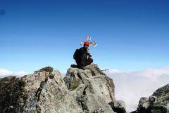 the highest point of Slovakia - Gerlach (2655 m)