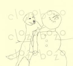 Lab vs. Snowman