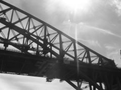 Section of the Sydney Harbour Bridge