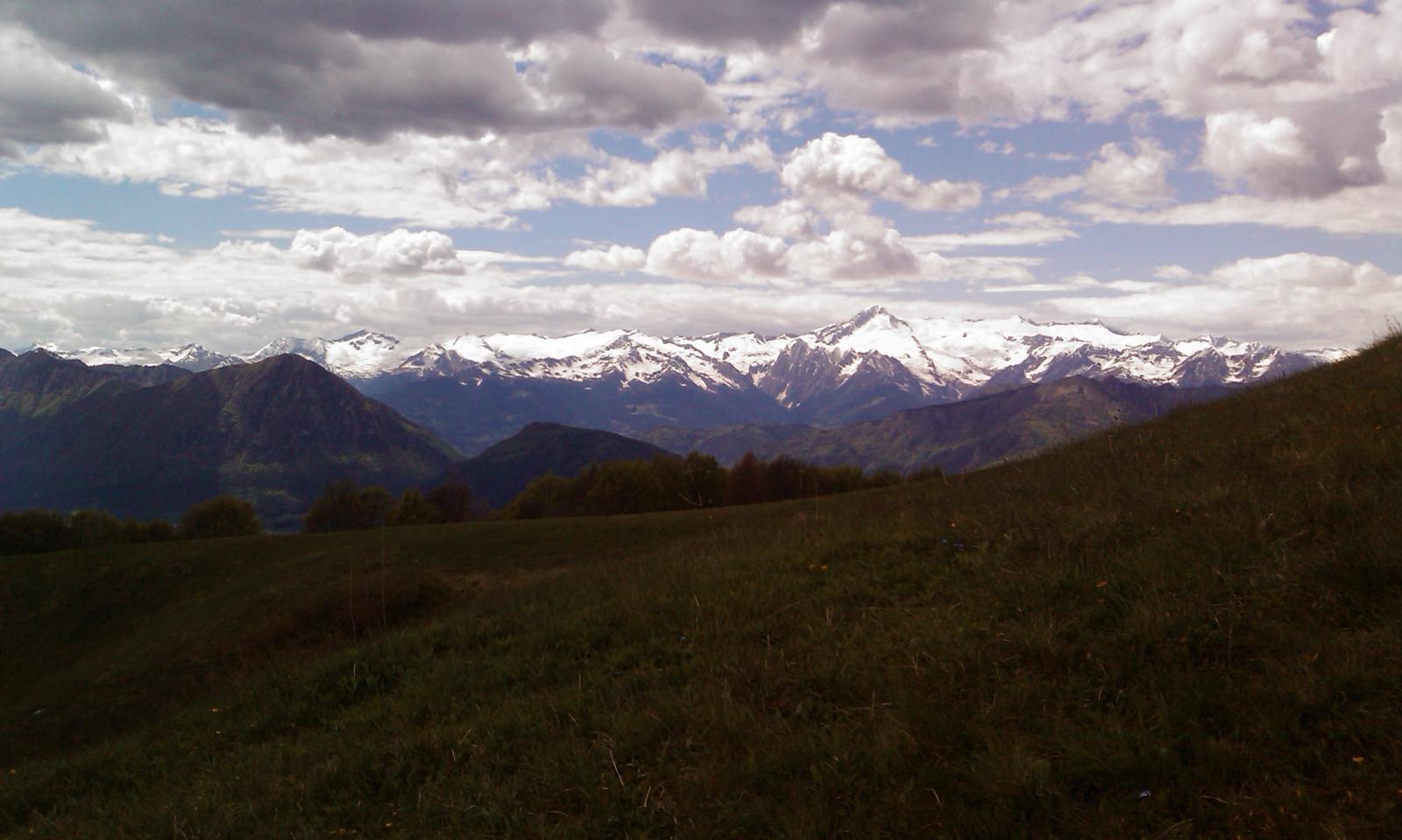 Via ferraty Che Guevara - Alps in view