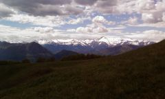 Via ferraty Che Guevara - Alps in view
