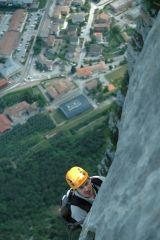 Via ferraty Rino Pisetta - just a few steps to the peak