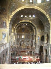 Venezia - Basilica di San Marco (last secret shot of golden ceiling mosaic)