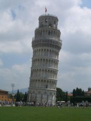 Pisa - Leaning Tower (and I was  just thinking to drop something from the top like Galileo Galilei did in the known tale)