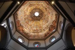 Firenze - the Dome fresco (zoom-in advised - not sure why the levels from bottom are 1st hell, 2nd women and 3rd men :-)