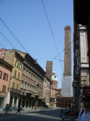 Bologna -  Due Torri (the higher almost 100m and the smaller typically not vertical as Italian speciality :-)