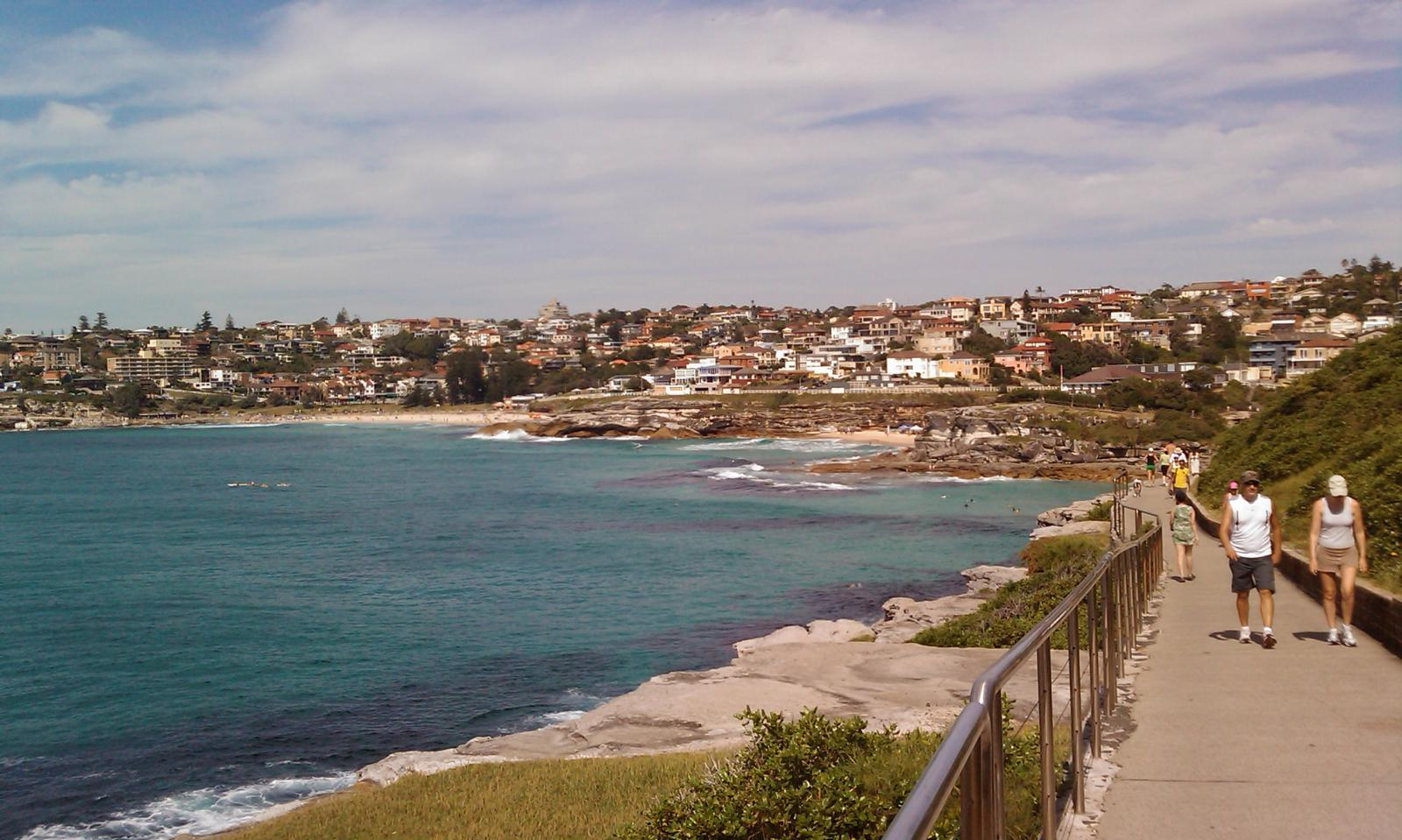 Sydney - coast walk (from Bondi, through Tamarama, Bronte, to Coogee)