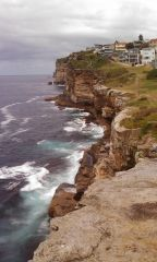 Sydney - cliff walk (North Bondi)