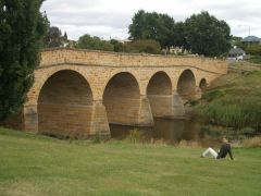 Tasmania - Richmond Bridge (oldest in Australia)