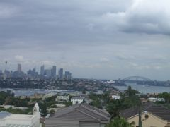 Sydney - view from North Bondi