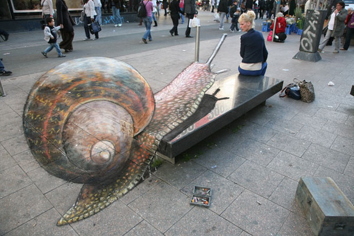 OPTICAL ILLUSIONS. ANAMORPHOSIS. - Artist Ivan Krutoyarov ...